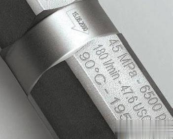 不同的材质选择不同的激光打标机